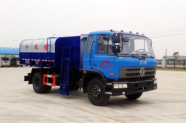 东风153挂桶垃圾车图片